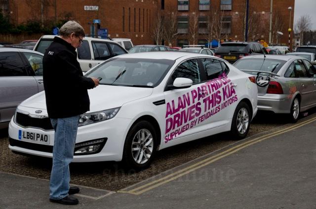 alan's car