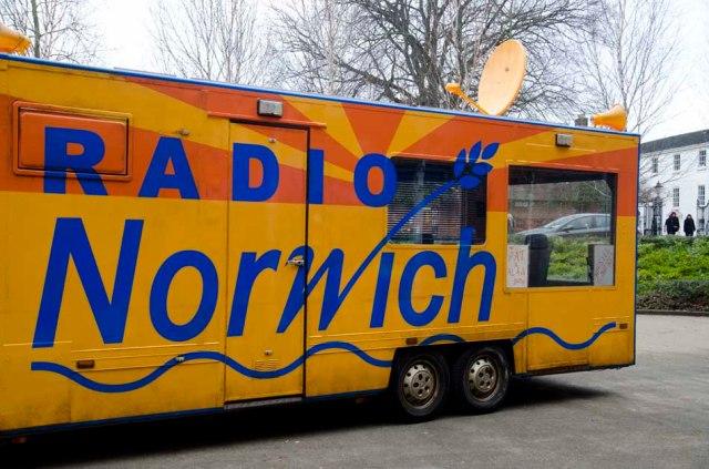the radio norwich bus