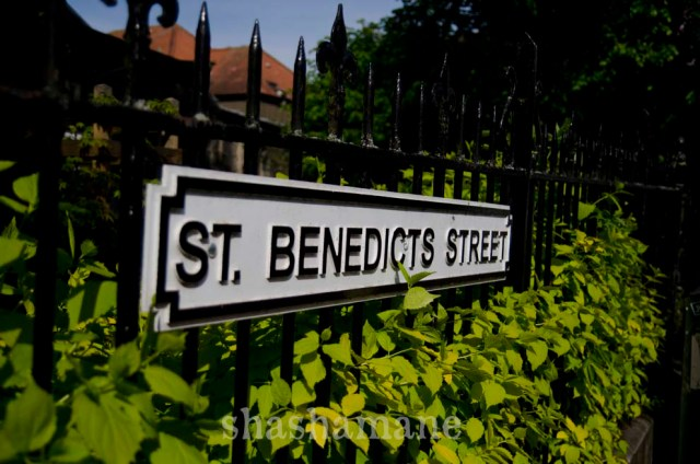 st benedicts street