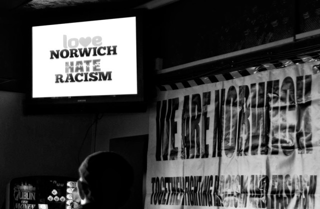 we are norwich fundraiser at the blueberry