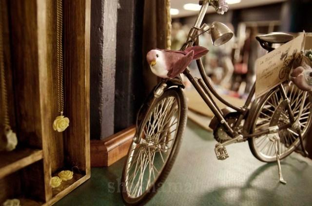 la bicicleta de anakleta, one of the sweetest stalls at the fair