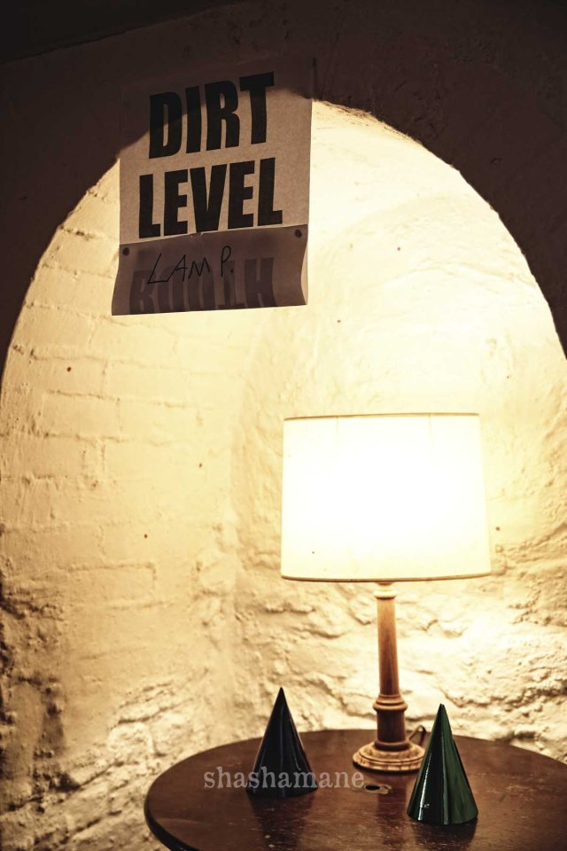 dirt level lamp