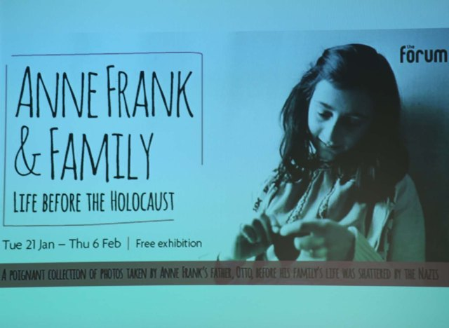 anne frank exhibition 1