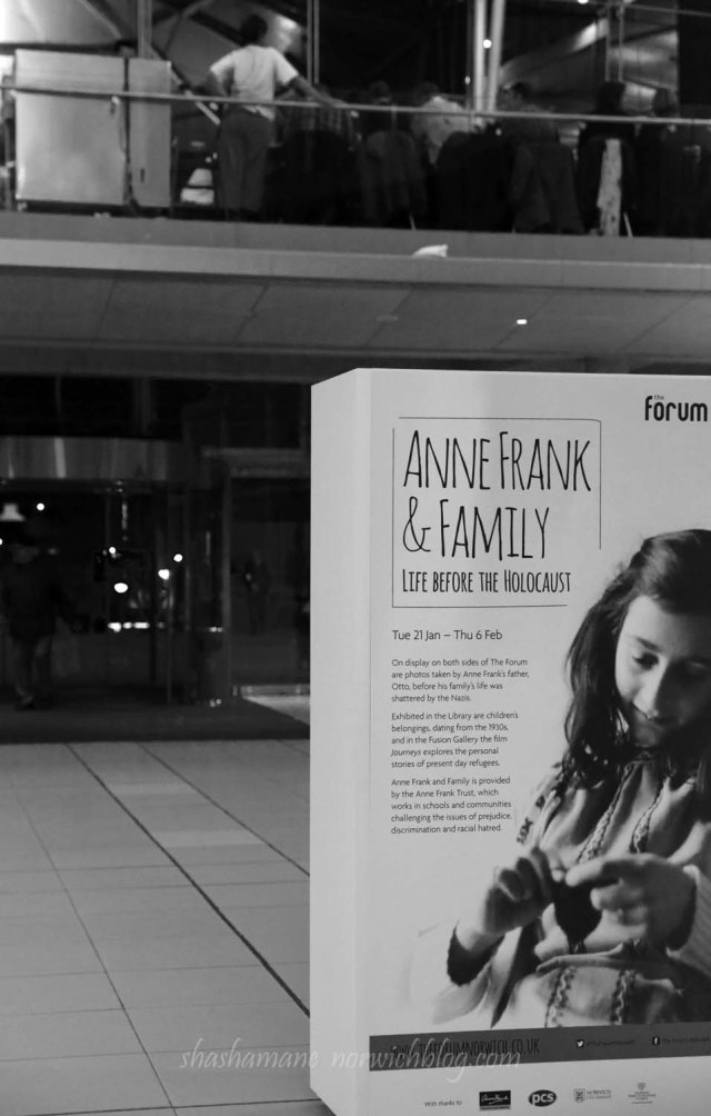 anne frank exhibition