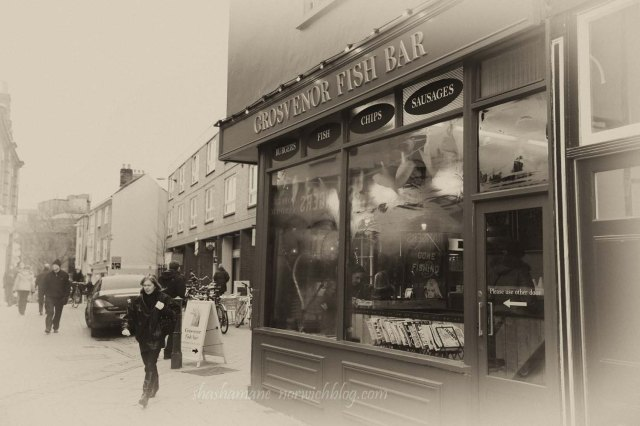 Grosvenor Fish Bar, Norwich