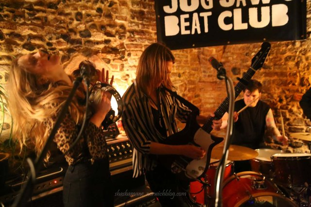 Lank Smith and the Pythons at Jug Jaw's Beat Club in Bedfords Crypt