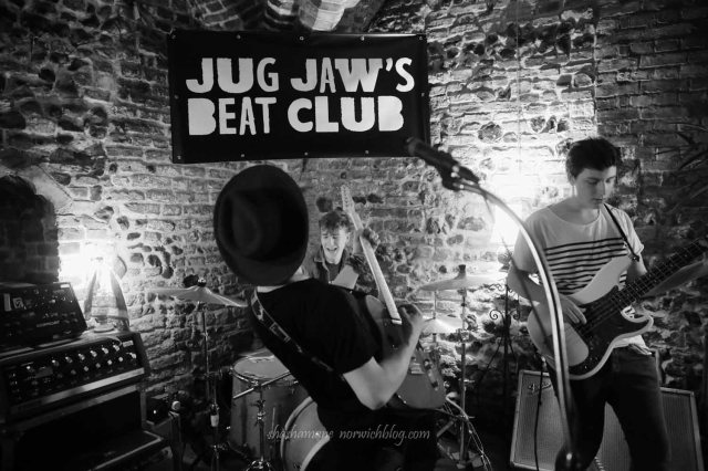 The Rumble at Jug Jaw's Beat Club in Bedfords Crypt