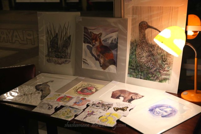 The Woodland Creatures exhibition