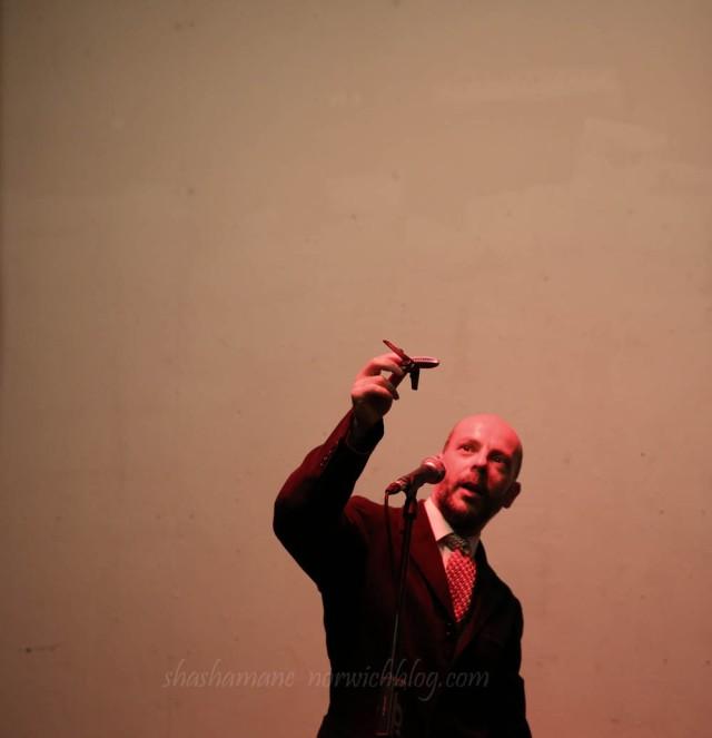 Julian Fox at Live Art! NNF14