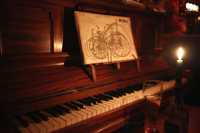 The Bicycle Shop piano
