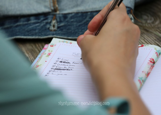 Natalie Lake prepares her set list