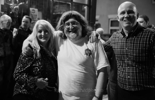 Steve with Dana and Dave Dixon (c) shashamane