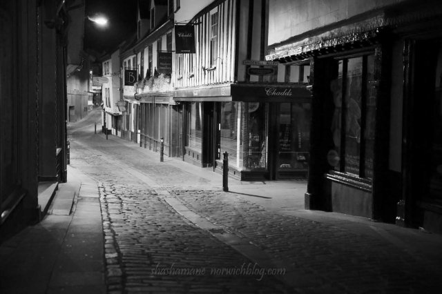 night time norwich - bedford street