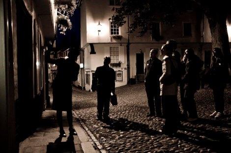 vintage murder mystery walk