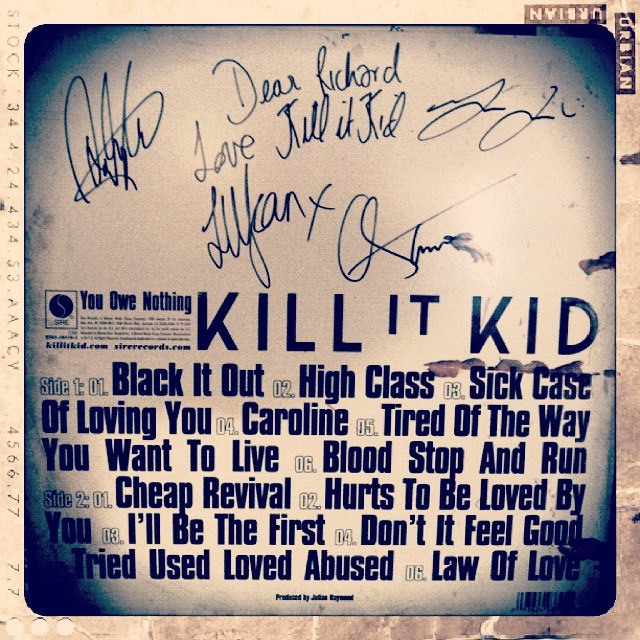 Kill It Kid, vinyl album (c) shashamane