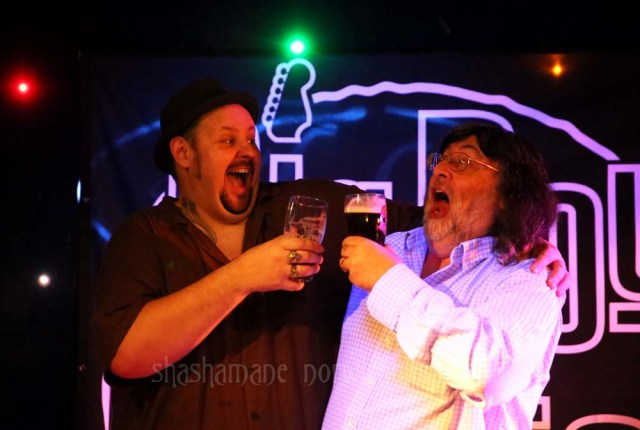 Big Boy Bloater, with Steve of Blues Matters Magazine (c) shashamane