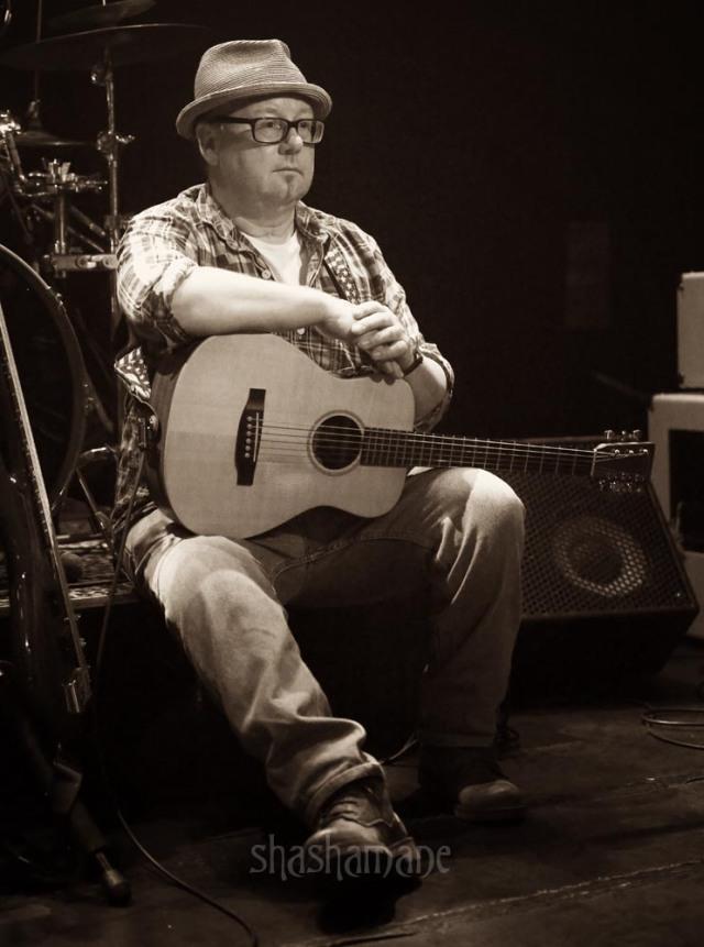 Johnny Steinberg, pre-gig (c) shashamane