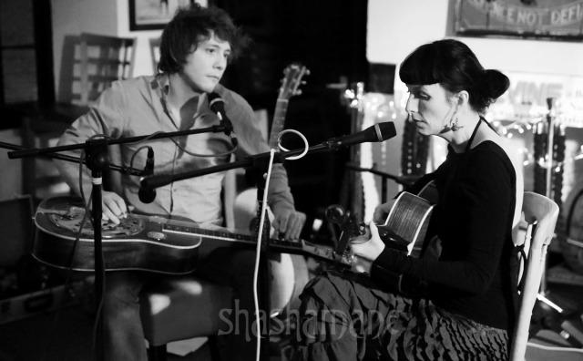 Hannah Sanders, with Ben Savage