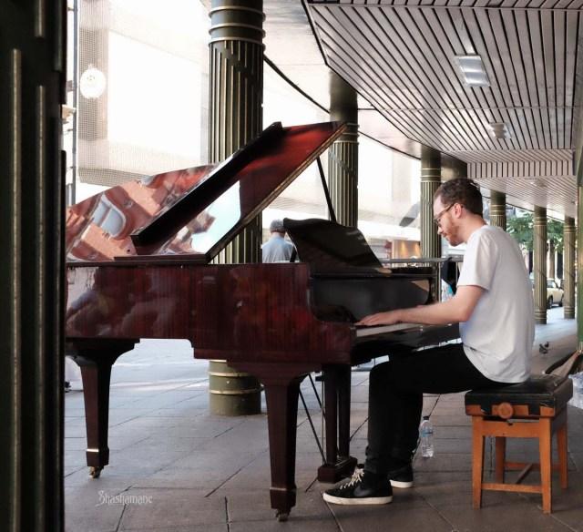 """Alex Carson on the NAC """"busking piano"""" (c) shashamane"""