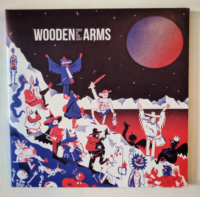wooden arms, trick of the light
