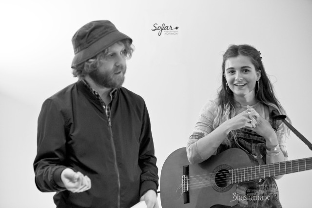 sofar sounds norwich, phoebe troup, chad mason