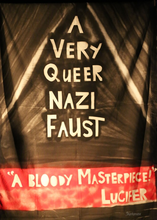 a very queer nazi faust