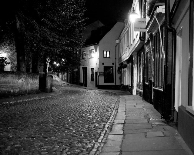 elm hill by night