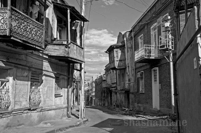 old tbilisi balconies