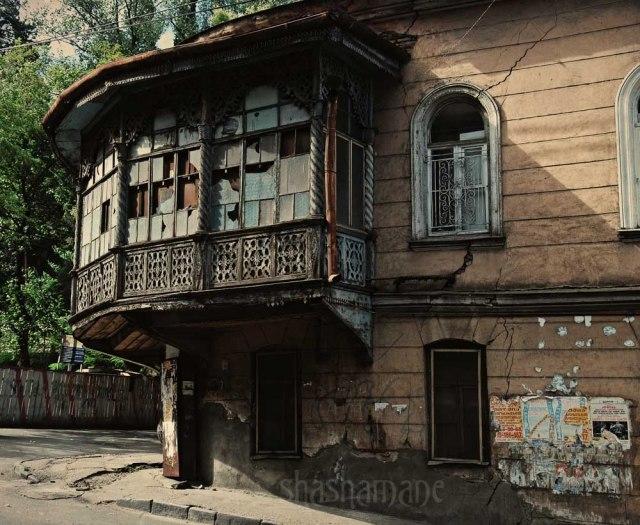 old tbilisi street corner
